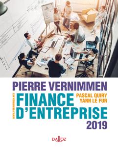 Finance d'entreprise 2019 La couverture du livre martien