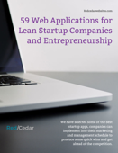 59 Web Applications for Lean Startup Companies and Entrepreneurship