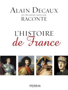 Alain Decaux raconte l'histoire de France La couverture du livre martien