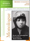 Profiles Of Women Past  Present  Bessie Coleman Aviator 1892-1926