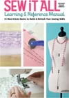 Sew It All Learning  Reference Manual