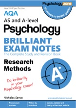 AQA Psychology Brilliant Exam Notes: Research Methods: AS And A-level