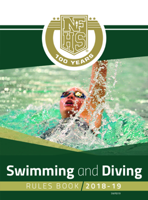 2018-19 NFHS Swimming and Diving Rules Book - NFHS book