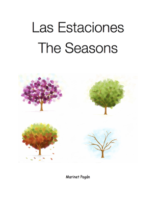 Las Estaciones - Marinet Pagan book