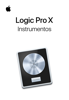 Apple Inc. - Instrumentos de Logic Pro X artwork