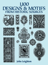 1 100 Designs And Motifs From Historic Sources