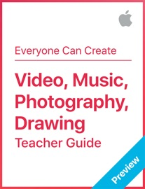 Video, Music, Photography, Drawing - Apple Education Book