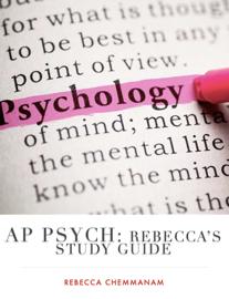 AP PSYCH: Rebecca's STUDY GUIDE