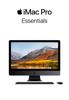 Apple Inc. - iMac Pro Essentials artwork