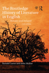 The Routledge History of Literature in English Libro Cover