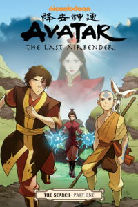 Avatar: The Last Airbender - The Search Part 1 Boekomslag