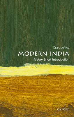 Modern India: A Very Short Introduction - Craig Jeffrey book