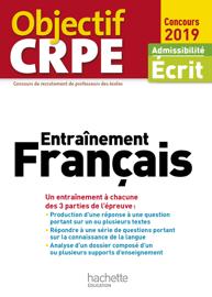Objectif CRPE Entrainement En Français 2019
