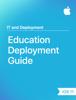 Apple Education - Education Deployment Guide artwork