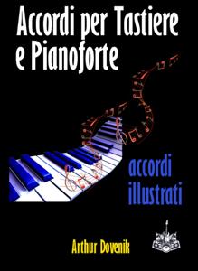 Dizionario degli Accordi per Tastiere e Pianoforte Copertina del libro