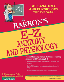 EZ Anatomy and Physiology book