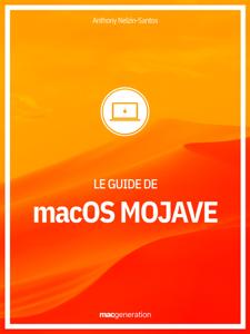 Le guide de macOS Mojave La couverture du livre martien