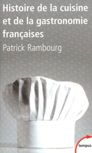 Histoire de la cuisine et de la gastronomie françaises La couverture du livre martien