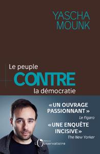 Le peuple contre la démocratie La couverture du livre martien