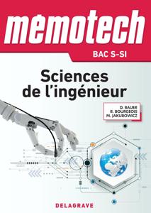 Mémotech Sciences de l'ingénieur 1re, Tle Bac S - CPGE (2017) - LN - EPUB La couverture du livre martien