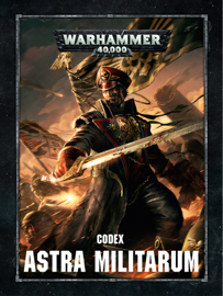 Codex: Astra Militarum book