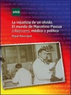 La Injusticia De Un Olvido El Mundo De Marcelino Pascua 18971977 Mdico Y Poltico
