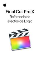 Manual de referencia de efectos de Logic incluidos en Final Cut Pro X