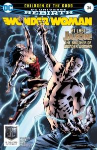 Wonder Woman (2016-) #34 Book Cover