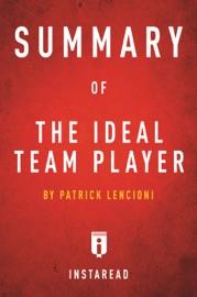 Summary Of The Ideal Team Player Pdf Ebooks Epub
