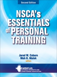 NSCAS ESSENTIALS OF PERSONAL TRAINING