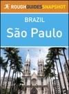 Sao Paulo Rough Guides Snapshot Brazil