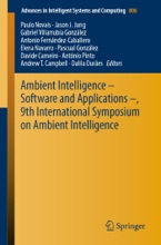 Ambient Intelligence – Software And Applications –, 9th International Symposium On Ambient Intelligence