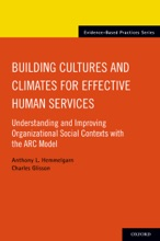 Building Cultures And Climates For Effective Human Services