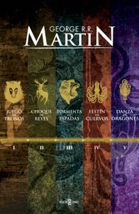 Canción de Hielo y Fuego (5 libros) Book Cover
