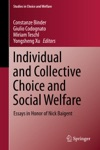 Individual And Collective Choice And Social Welfare