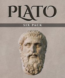 Plato Six Pack: Euthyphro, Apology, Crito, Phaedo, The Allegory of the Cave and Symposium book