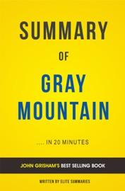 Gray Mountain By John Grisham Summary Analysis