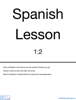 WildChildLearning.com - Spanish Lesson 1:2 artwork