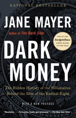 Dark Money - Jane Mayer book