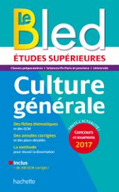 Le Bled Études Supérieures Culture Générale