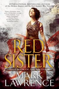 Red Sister La couverture du livre martien
