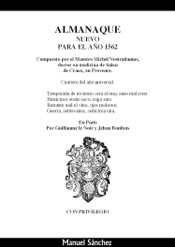 Download and Read Online Almanaque nuevo para 1562 de Nostradamus