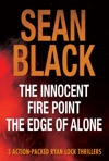 3 Action Packed Ryan Lock Thrillers The Innocent Fire Point The Edge Of Alone