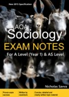 AQA Sociology EXAM NOTES For A Level Year 1  AS Level