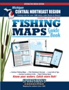 Michigan Central Northeast Region Fishing Maps Guide Book