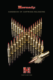 Hornady 10th Edition Handbook of Cartridge Reloading book