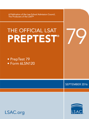The Official LSAT PrepTest 79 - Law School Admission Council book
