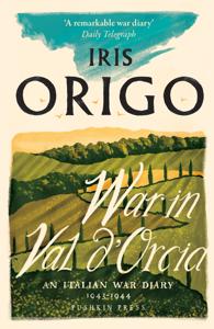 War in Val d'Orcia Copertina del libro