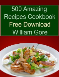 500 AMAZING RECIPES COOKBOOK FREE DOWNLOAD