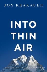 Into Thin Air Copertina del libro